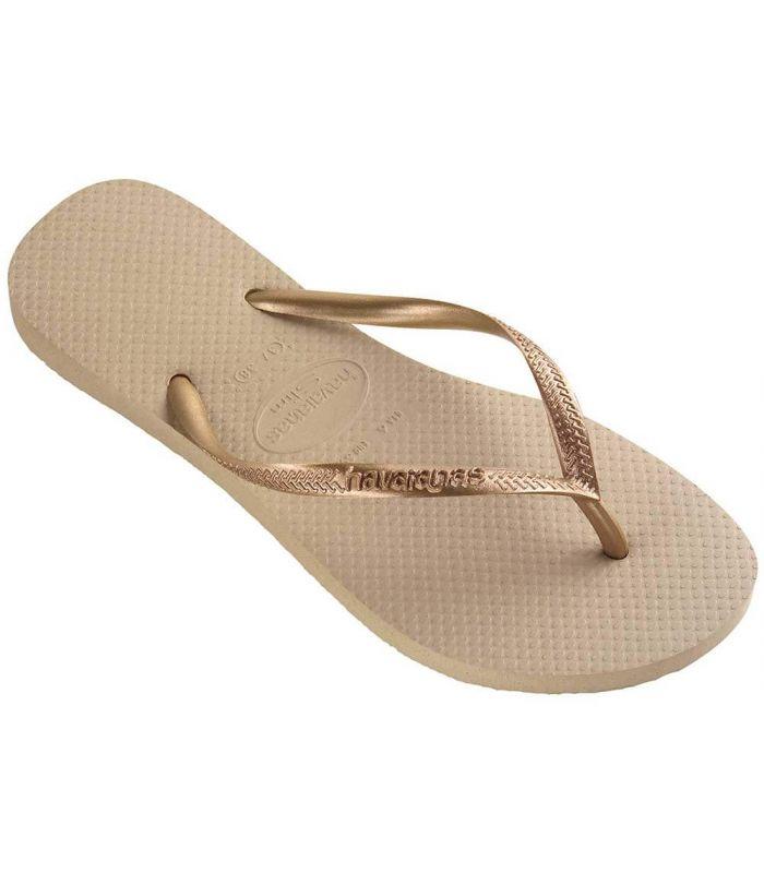 Havaianas Slim Beig Havaianas Sandalias / Chancletas Mujer Calzado Montaña Tallas: 35 / 36, 37 / 38, 39 / 40; Color: