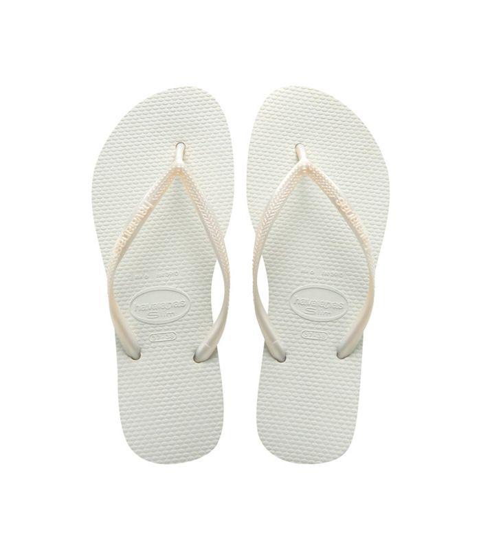 Havaianas Slim Blanco Havaianas Sandalias / Chancletas Mujer Calzado Montaña Tallas: 41 / 42