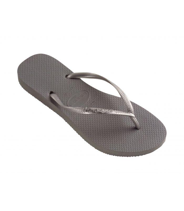 Sandalias / Chancletas Mujer - Havaianas Slim Gris Calzado Montaña