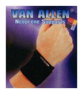 Wristband neoprene Van Allen Protections Fitness