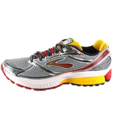 Brooks Ghost 6 Gris Rojo