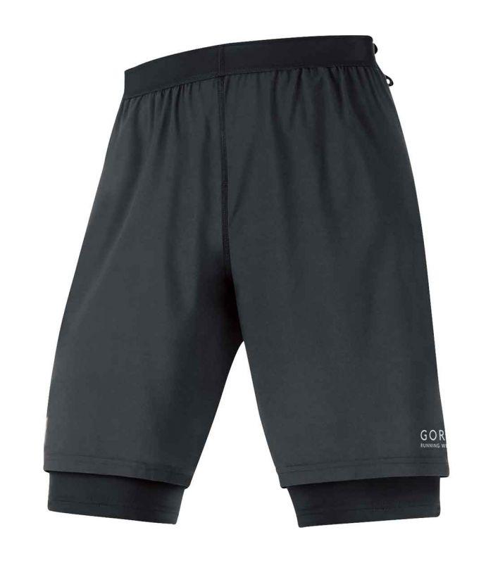 Pantalones técnicos running - Gore Shorts X-RUNNING 2.0 negro Textil Running