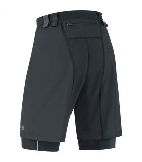 Gore Shorts X-RUNNING 2.0 Gore Runnig Wear Pantalones técnicos running Textil Running Tallas: l, s; Color: negro
