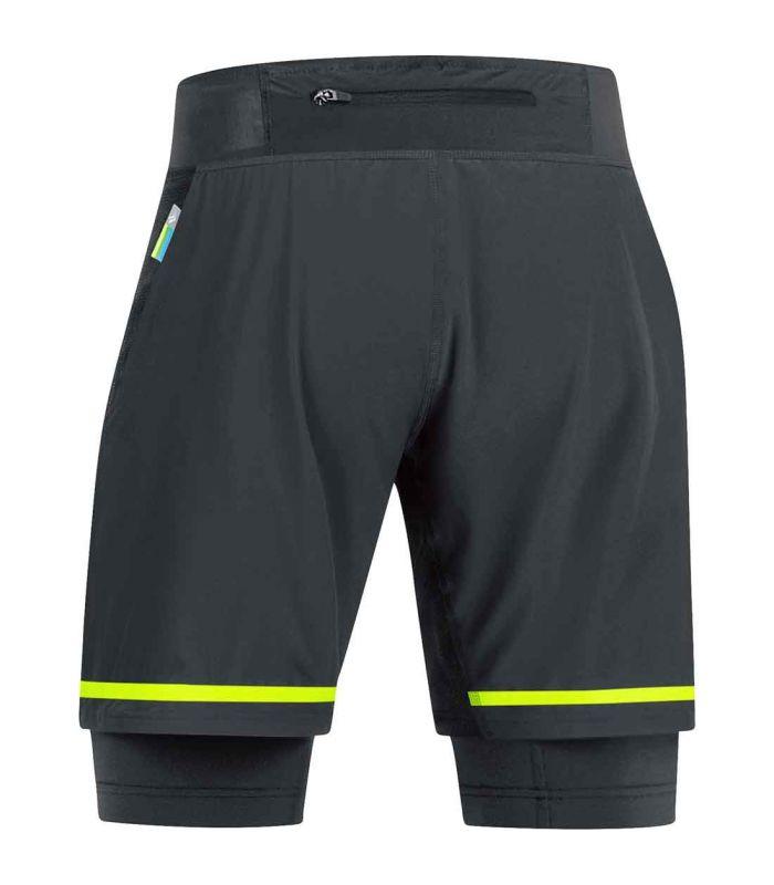 Pantalones técnicos running - Gore Pantalón corto X-Run Ultra Textil Running