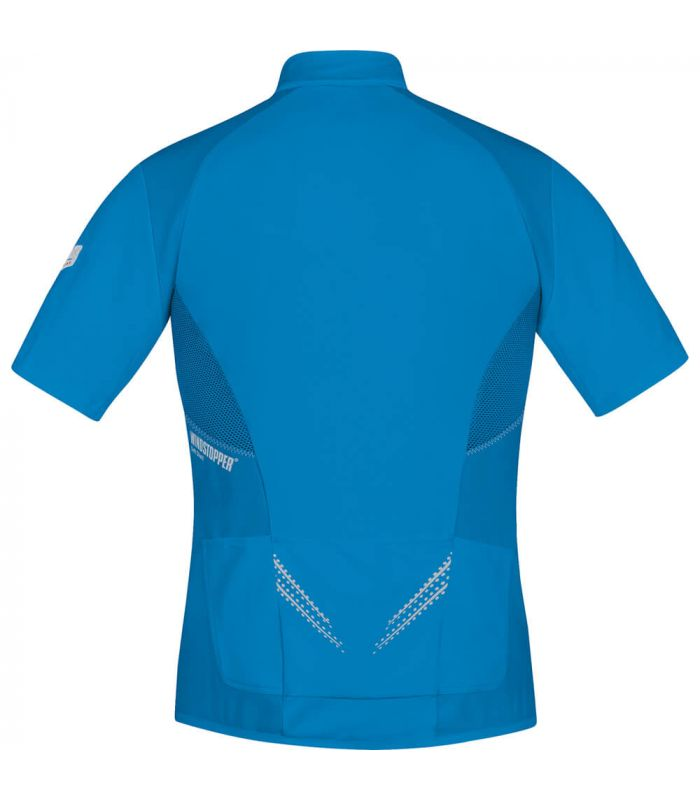 Camisetas Técnicas Trail Running - Gore Camiseta Magnitude Windstopper Soft Shell Zip-Off Textil Trail Running