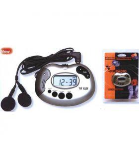Podometro con radio FM Van Allen Podómetros Electrónica y Orientación