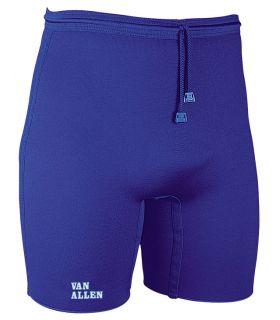 Protecciones - Pantalon Reductor Neopreno Azul Mujer Fitness