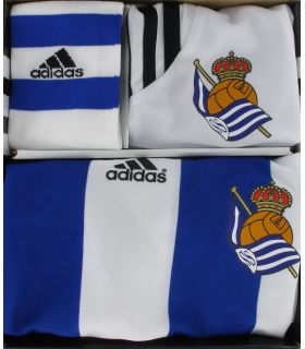 Adidas Mini Kit Real Sociedad Offizielle 2014/15