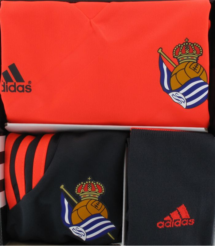 Adidas Mini Kit Real Sociedad Oficial 2 2014/15