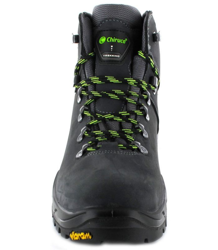 Botas de Montaña Hombre - Chiruca Cares Gris Gore-Tex Calzado Montaña