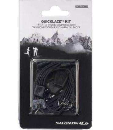 Salomon Quicklace Lacets Noir