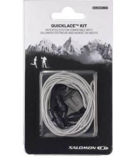 Salomon Quicklace Lacets Gris