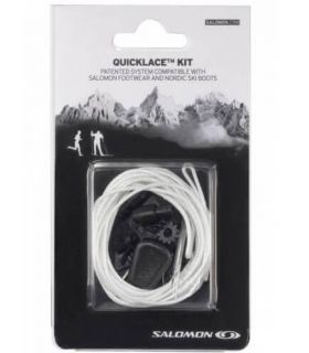 Salomon Quicklace Laces Natural - Templates and Accessories