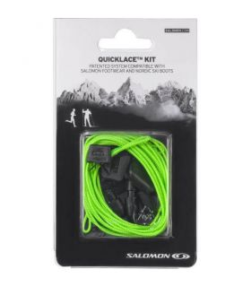 Salomon Quicklace Laces Green