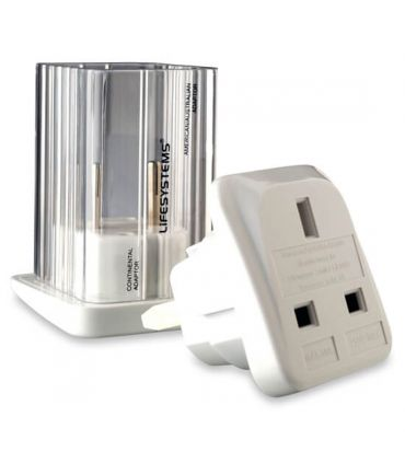 Lifesystems Travel Adapter