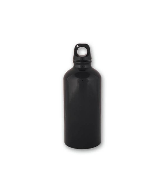 Water bottle Black 0.5 liter