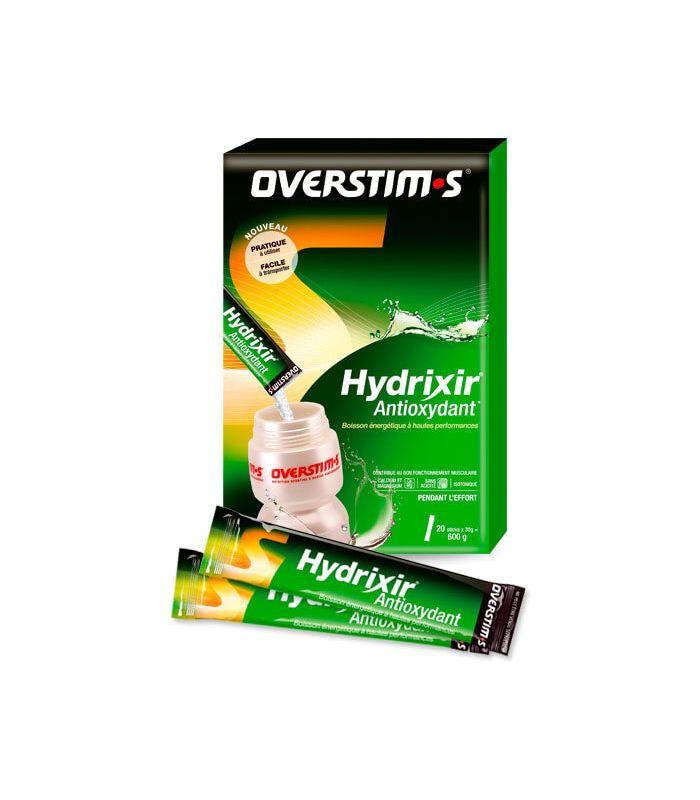 Overstims Hydrixir Antioxidante Sticks Frutas Rojas