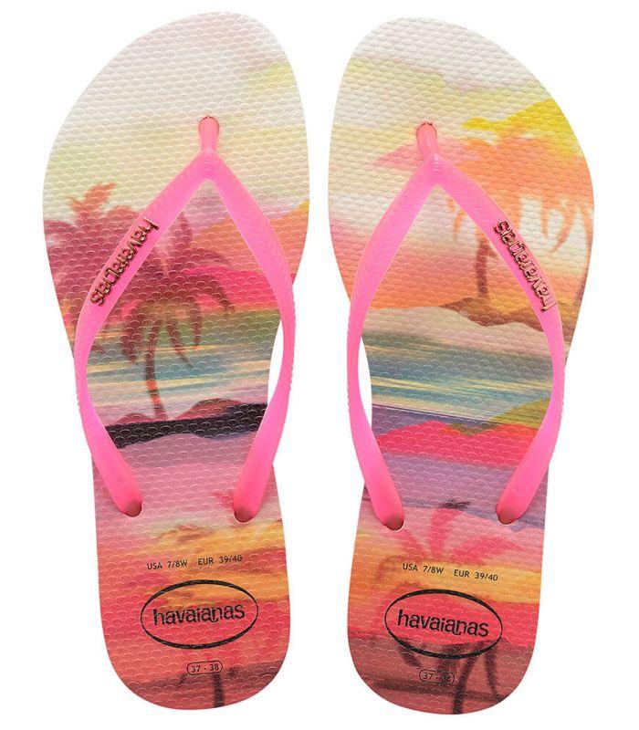 Havaianas Slim Paisage Beige
