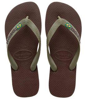 Havaianas Brasil Logo Braun