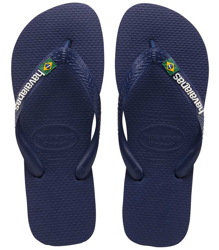 Havaianas Brasil Logo Azul