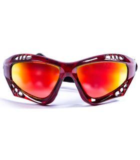 Ocean Australia Shiny Red / Revo - Gafas de sol Running - Ocean Sunglasses rojo