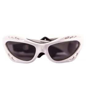 Ocean Cumbuco Shiny White / Smoke - Sunglasses Running