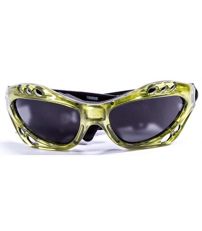 L'Océan Cumbuco Vert Brillant / Fumée - Gafas de Soleil Running