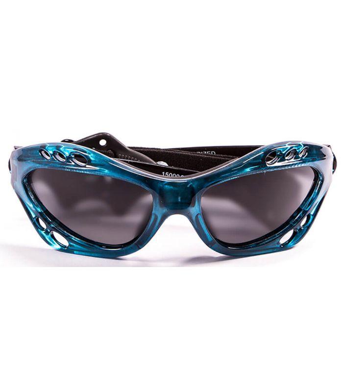 Ocean Cumbuco Shiny Blue / Smoke - Running sunglasses