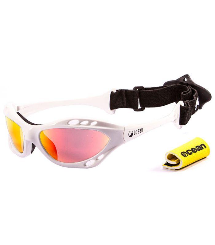 Ocean Cumbuco Shiny White / Revo - Gafas de sol Running - Ocean Sunglasses blanco