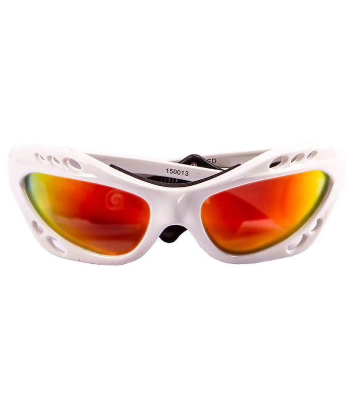 L'Océan Cumbuco Blanc Brillant / Revo - Gafas de Soleil Running