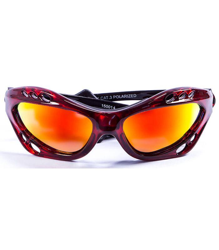 Gafas de sol Running - Ocean Cumbuco Shiny Red / Revo rojo Running