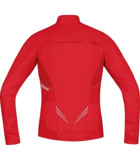 Gore Magnitude Windstopper Soft Shell Zip-Off-Rouge - T-Shirts