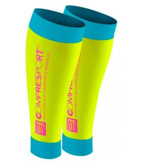 Compressport R2 Fluo Yellow