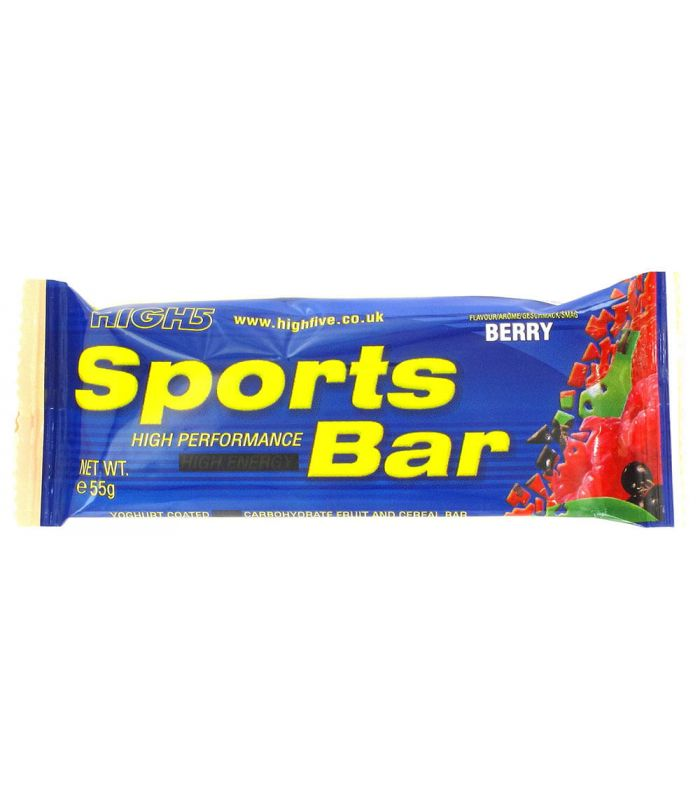 High5 Barritas Energeticas Sports Bar Fresa