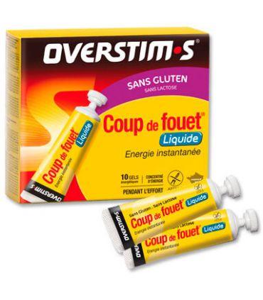 Overstims Gel Coup de Fouet líquido Limon Sin Gluten