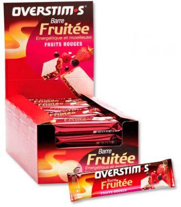 Overstims Barre d'Énergie avec des Fruits de Fruits Rouges