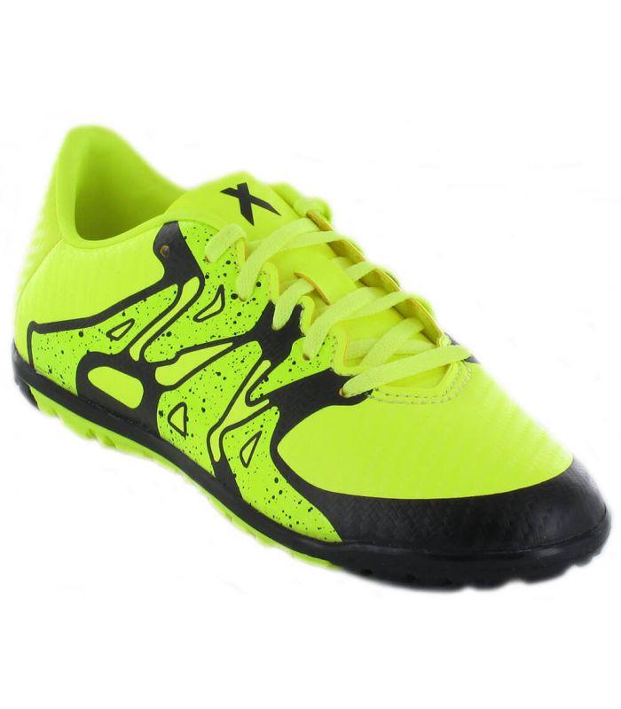 Adidas X 15.3 TF J Adidas Botas multi tacos Fútbol Tallas: 30; Color: pistacho