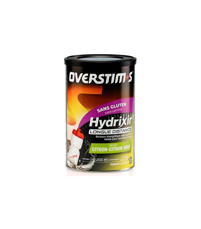 Overstims Hydrixir Larga Distancia Sin Gluten Frutas Rojas 600 Gr