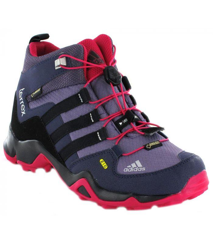 50% rebajado 100% genuino garantía de alta calidad Adidas Terrex Mid K Gore-Tex Morado Botas de