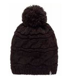 The North Face Tripe Cable Pom Negro