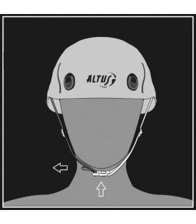Helmet Altus Jupiter - Buckle adjustment