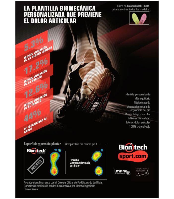Biontech Plantilla Verde - Plantillas y Accesorios Montaña