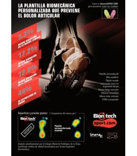 Biontech Plantilla Fucsia - Plantillas y Accesorios Montaña - Biontech fucsia 37, 39, 40