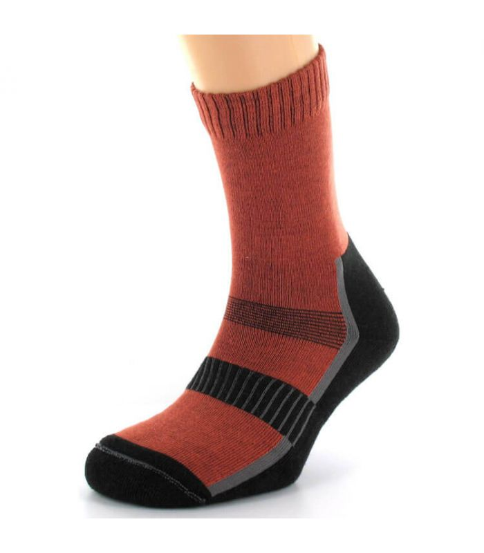 Calcetin de montaña Mund Andes - Calcetines Montaña - Mund Socks naranja 46 / 49