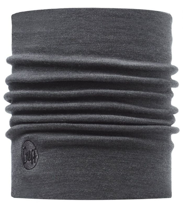 Buff Heavy Merino Wool Neckwarmer Buff Grey