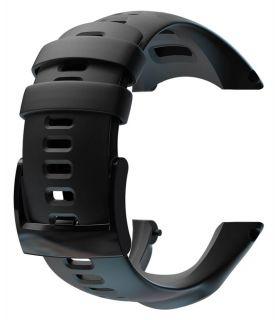 Bracelet Suunto Ambit3 Sport Ambit3 Exécuter, Ambit2 S, et Ambit2 R Silicone Noir