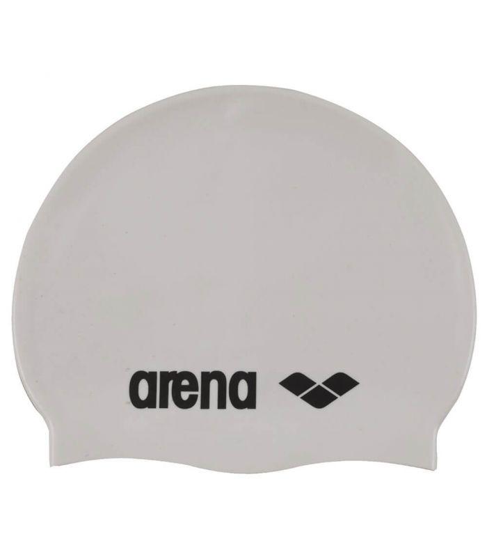 Arena Gorro Classic Silicona Blanco - Gorros Natacion - Triatlon