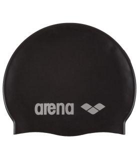 Arena Gorro Classic Silicona Negro - Gorros Natacion - Triatlon - Arena negro