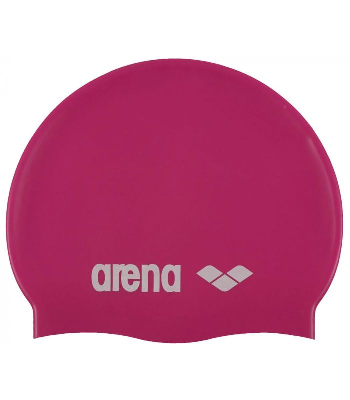 Gorros Natacion - Triatlon - Arena Gorro Classic Silicona Junior Fucsia rosa Natación - Triatlón